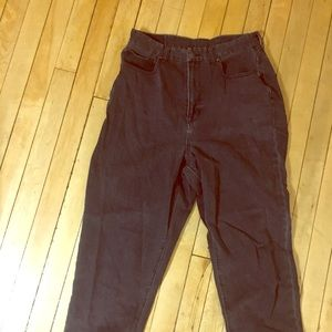 American Eagle X-Short Mom Jeans Curve Size 8
